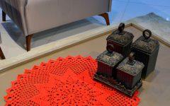 Centro De Mesa Maçã Em Crochê – Material e Receita