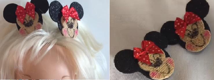 Chupeta Sandalia e Chiquinha Minnie Em EVA – Material e Vídeo