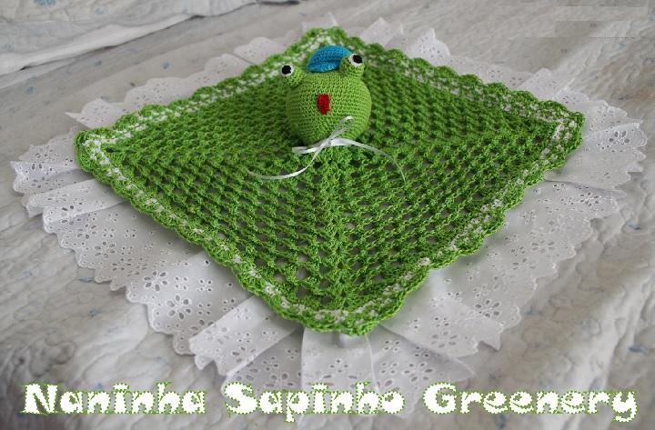 Naninha Sapinho Greenery Em Crochê – Material e Vídeo