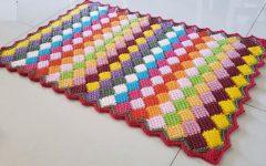 Tapete Com Sobras de Fios Em Crochê – Material e Vídeo
