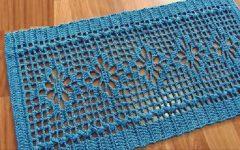 Tapete Verde Floral Em Crochê – Material e Vídeo