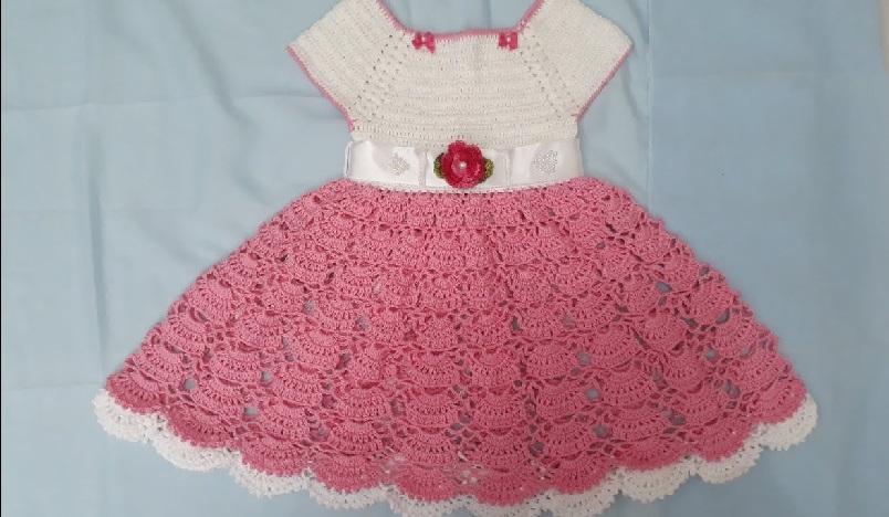 Vestido Princesa Em Crochê – Material e Vídeo