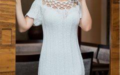 Vestido Branco Em Tricô – Material e Receita