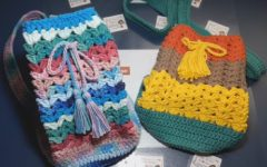 Bolsinha Multicolorida Em Crochê – Material e Vídeo