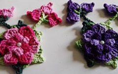 Flor Arraial Em Crochê – Material e Vídeo