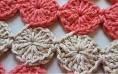 Ponto Fuxico Círculo Contínuo Em Crochê – Material e Vídeo