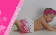 Saia Infantil Mariane Em Crochê – Material e Vídeo