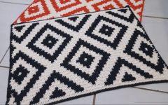 Tapete Geométrico Fio Conduzido Em Crochê – Material e Vídeo