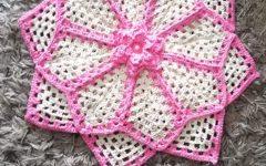 Tapete Perola Rosa Em Crochê – Material e Vídeo
