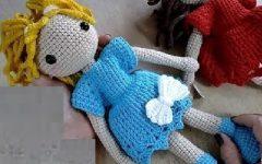 Amigurumi Boneca Sem Costura Em Crochê – Material e Vídeo