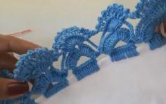 Barrado Para Pano De Prato Simples Em Crochê – Material e Vídeo