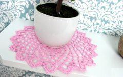 Conjunto de Toalhinhas Candy Em Crochê – Material e Vídeo