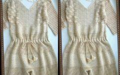 Macacão Curto Em Crochê – Material e Vídeo