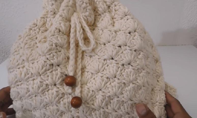 Mochila Barroco Em Crochê – Material e Vídeo