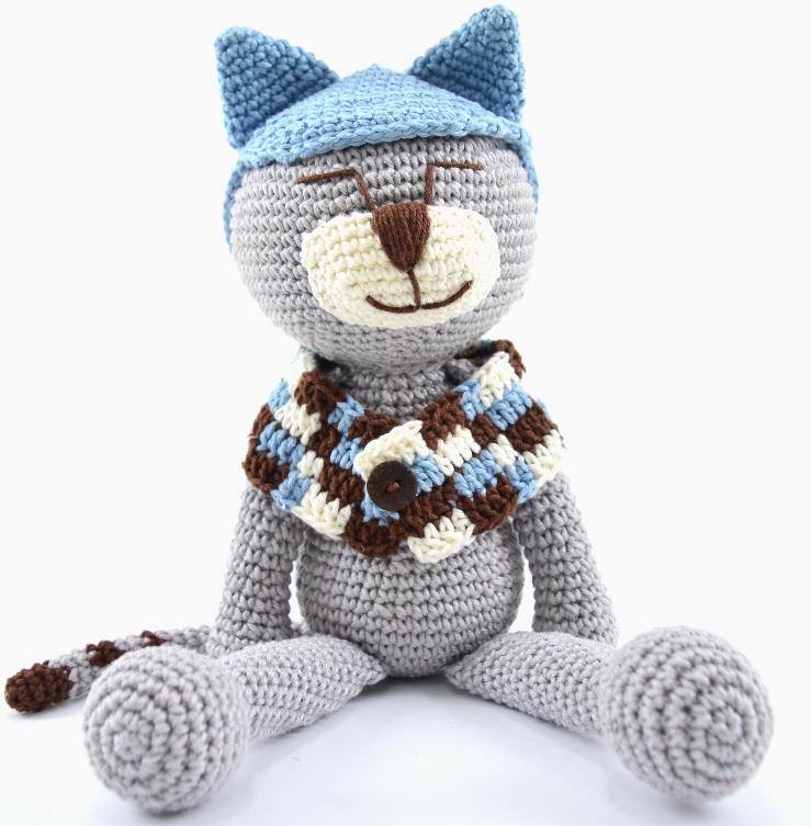 Amigurumi Mr Cat Em Crochê – Material e Receita