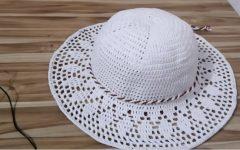 Chapéu de Praia Em Crochê – Material e Receita