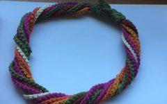 Colar Correntinhas Coloridas Em Crochê – Material e Vídeo