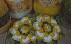 Flor Luiza Em Crochê – Material e Vídeo