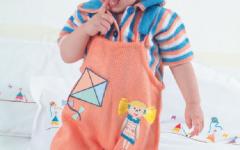 Macaquinho Infantil Em Tricô – Material e Receita