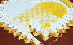 Tapete Coração Trançado Em Crochê – Material e Vídeo