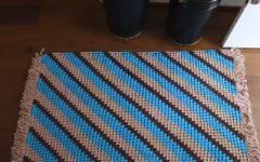 Tapete Diagonal Em Crochê – Material e Vídeo