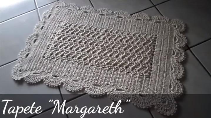 Tapete Margareth Em Crochê – Material e Vídeo