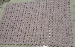 Tapete Ponto Muito Fácil Em Crochê – Material e Vídeo