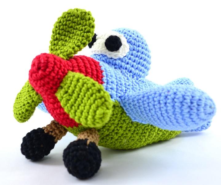 Amigurumi Avião Em Crochê – Material e Receita