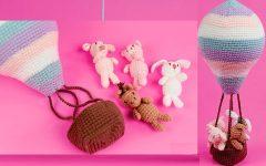 Amigurumi Balão Em Crochê – Material e Receita
