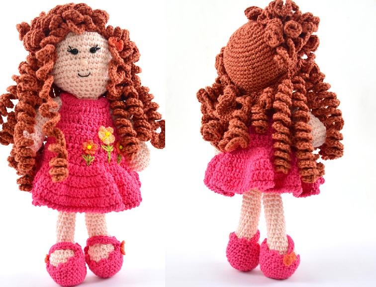 Amigurumi Boneca Vivi Em Crochê – Material e Receita