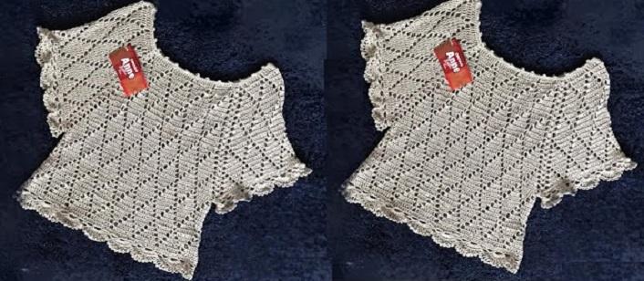 Bata Anne Brilho Em Crochê – Material e Vídeo