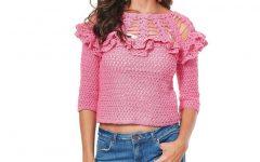 Blusa Pitaya Em Crochê – Material e Receita