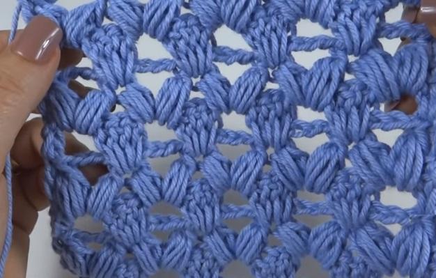 Ponto Puff Camadas Em Crochê – Material e Vídeo