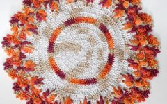 Sousplat Pé de Galinha Em Crochê – Material e Receita