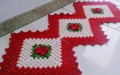 Tapete Cozinha Lozango Em Crochê – Material e Vídeo