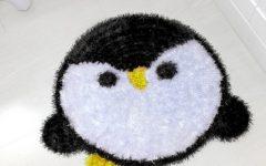 Tapete Pinguino Em Crochê – Material e Vídeo