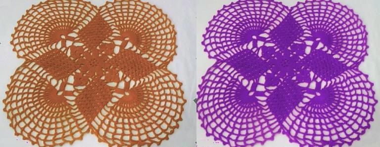 Toalhinha Charme Em Crochê – Material e Vídeo