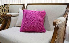 Almofada Pink Em Tricô – Material e Receita