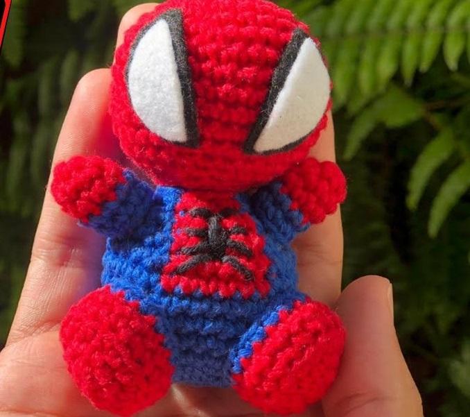 Amigurumi Homem Aranha Em Crochê – Material e Vídeo