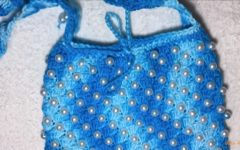 Bolsa Com Pérolas Em Crochê – Material e Vídeo