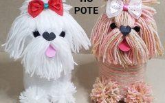 Cachorrinhos no Pote Com Lã – Material e Vídeo