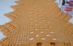 Caminho de Mesa Lindo Em Crochê – Material e Vídeo