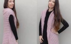Colete Glace Em Crochê – Material, Receita e Vídeo