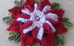 Flor Para Aplicação Em Crochê – Material e Vídeo