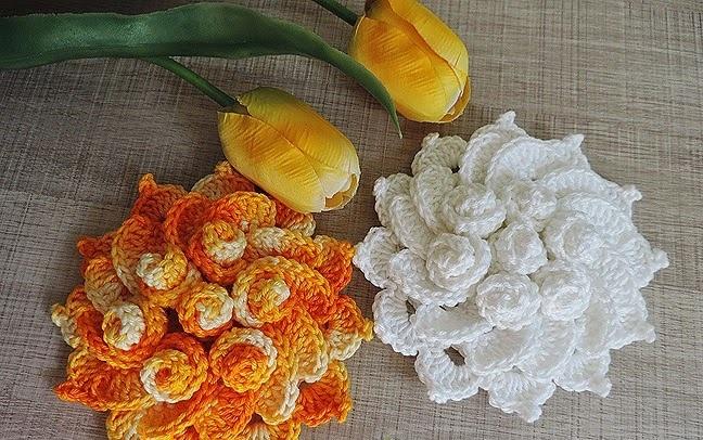 Flor de Maio Em Crochê – Material e Receita