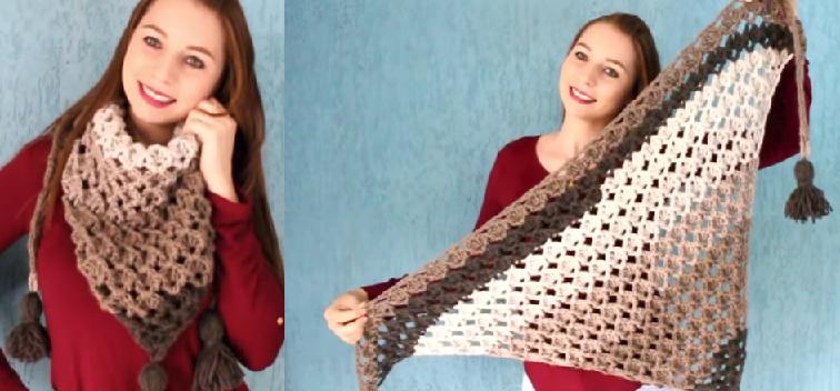 Gola ColorPull Em Crochê – Material e Vídeo