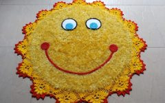 Tapete Sol Barroco Decore Em Crochê – Material e Vídeo