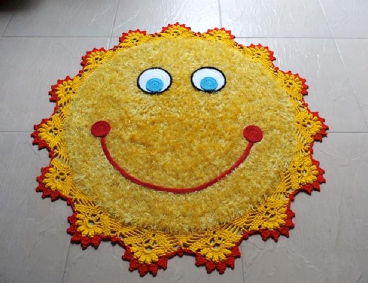 Tapete Sol Barroco Decore Em Crochê - Material e Vídeo