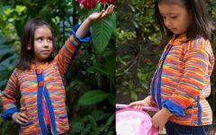 Casaco Infantil Coral de Tricô – Material e Receita