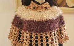 Pelerine Marilei Em Crochê – Material e Vídeo